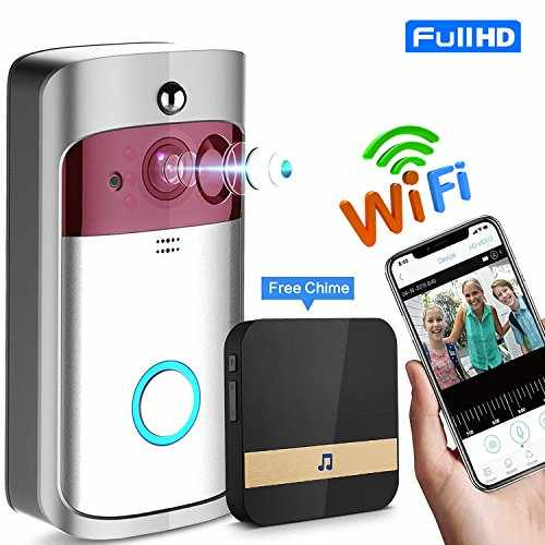 Wifi Video Doorbell, NOKONO Smart Wireless Doorbell with