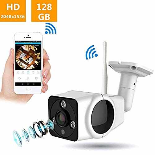 All-in-one Home Security Camera System 360 Degree Panoramic Wireless