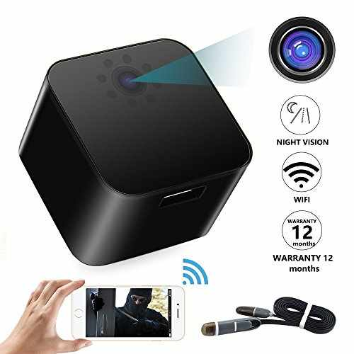 Wireless Spy Hidden Camera Wifi Wall Charger Cameras- 1080P